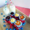 Mini-Käsekuchen-Muffins