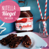 Nutella-Riegel (ohne backen)