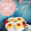 Cheesecake mit Rhababer & Erdbeeren