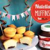 Muffins mit Nutellafüllung