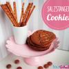 Salzstangen Cookies