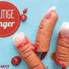 Blutige Finger