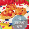 Minipizza mit Hefeteig