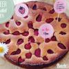 Erdbeer-Mandelkuchen mit Buttermilch
