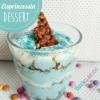 Dessert für kleine Eisprinzessinen-Fans