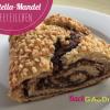 Nutella-Mandel Hefeteilchen