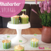 Rhabarber-Cupcakes