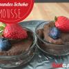 Gesundes Schokomousse (Avocado-Schokomousse, Avocado Nutella)