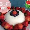 Joghurt-Ball mit Früchten
