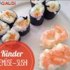 Gemüse-Sushi für Kids