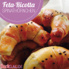 Feta-Ricotta-Spinathörnchen