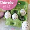 Last Minute Ostereier Deko: Hasenohrkrone
