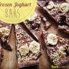 Frozen Joghurt Bars - Schoko-Banane