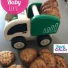 Baby Kekse (nur 3 Zutaten)