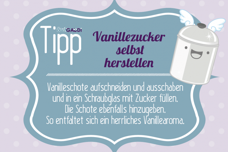 Backtipp Vanillezucker