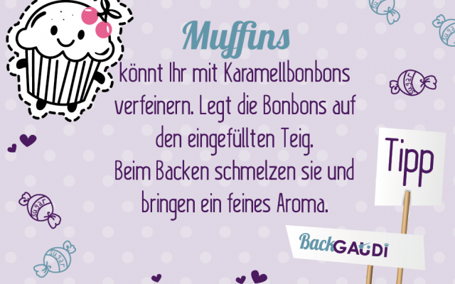 Backtipp Muffin