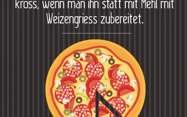 Backtipp Pizza