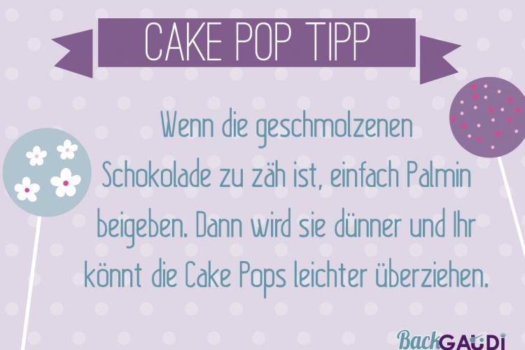 Cake Pops Tipp