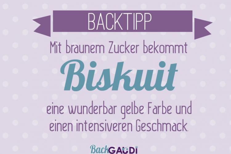 Backtipp Biskuit 2