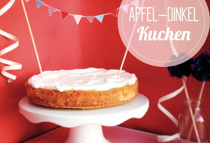 Apfel-Dinkel-Kuchen