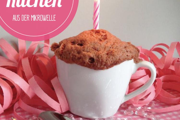 1 Minute Mikrowellen Kuchen