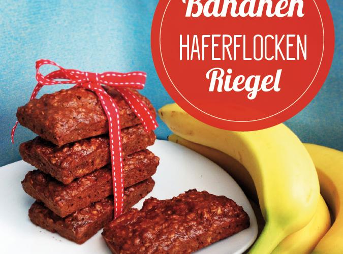 Bananen-Haferflocken-Riegel