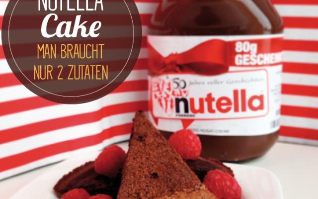 2 Zutaten Nutella Cake