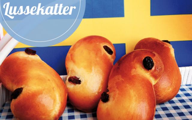 Schwedische Lussebullar