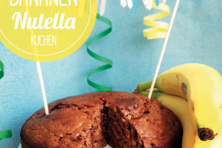 Bananen-Nutella Kuchen