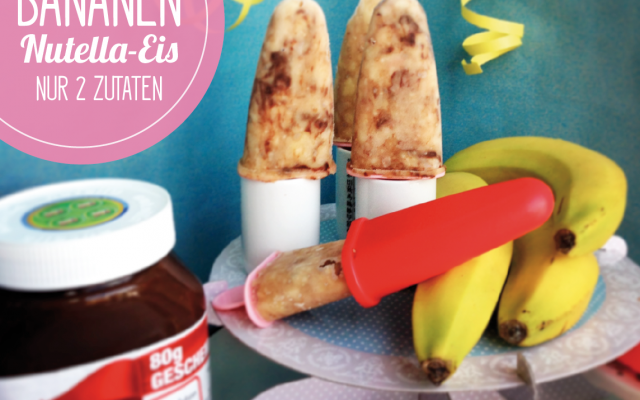 Bananen-Nutella Eis