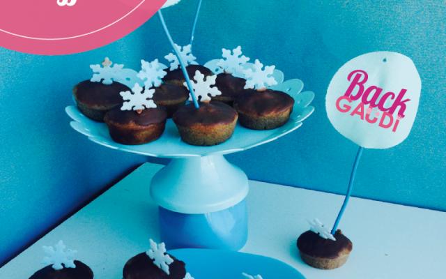 Mini-Schnee-Muffins