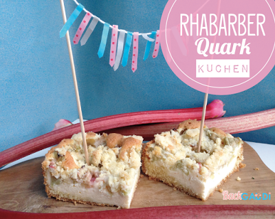 Rhabarber-Quark Kuchen