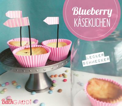 Blueberry Käsekuchen Muffins
