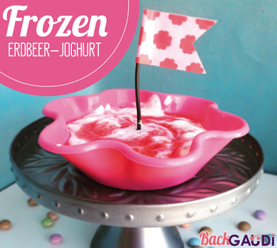 Frozen Erdbeer-Joghurt