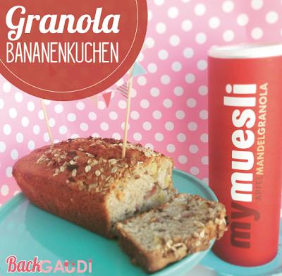 Granola-Bananenkuchen, mymüsli