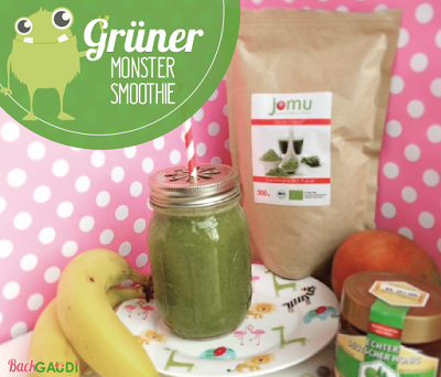 Grüner Monster-Smoothie