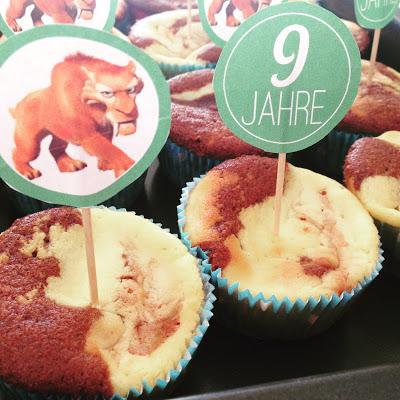 Tiger Cake Topper – Gratis