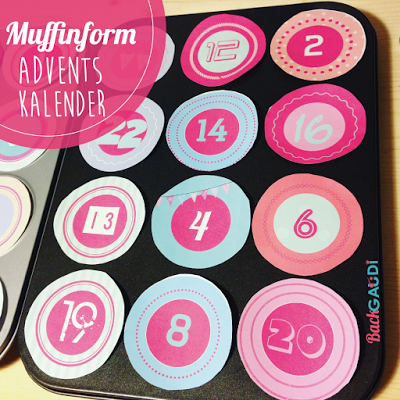 DIY – Adventskalender in Muffinformen