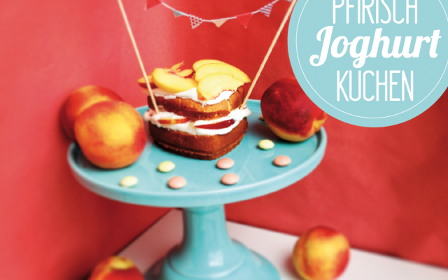 Pfirsich-Joghurt Kuchen