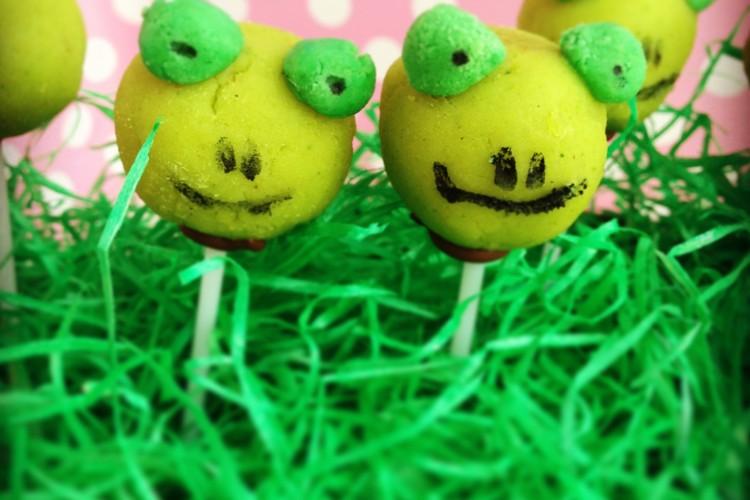 Frosch-Cake Pops