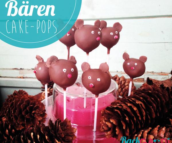 Bären Cake Pops