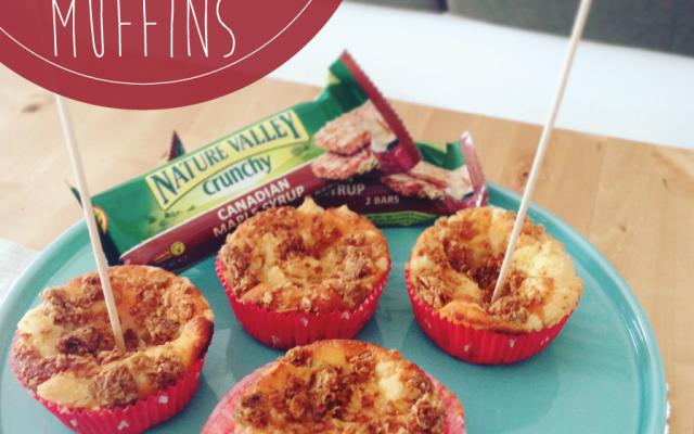 Crunchy Käsekuchen Muffins