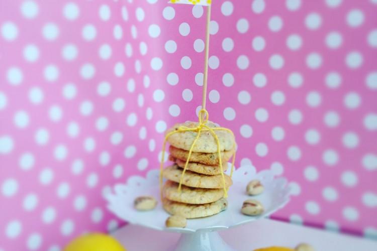 Pistazien-Zitronen-Cookies