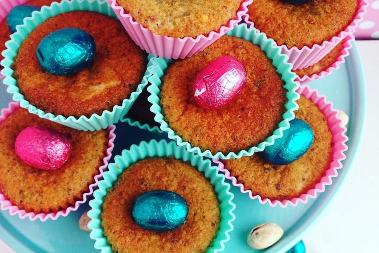Pistazien-Gewürz-Muffins