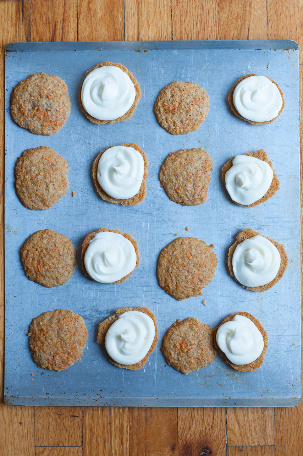 Möhrenkuchen Whoopie Pies-3