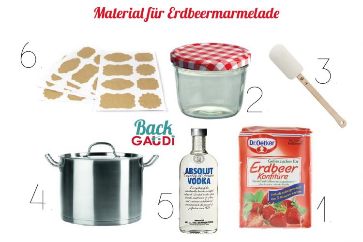 Das braucht ihr alles, um Marmelade herzustellen