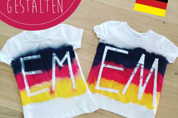 DIY EM-Fan-Shirts gestalten