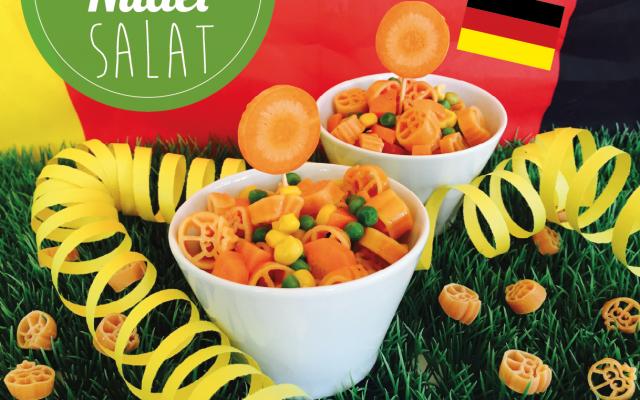 Kinder-Nudelsalat – EM mit den Frechen Freunden