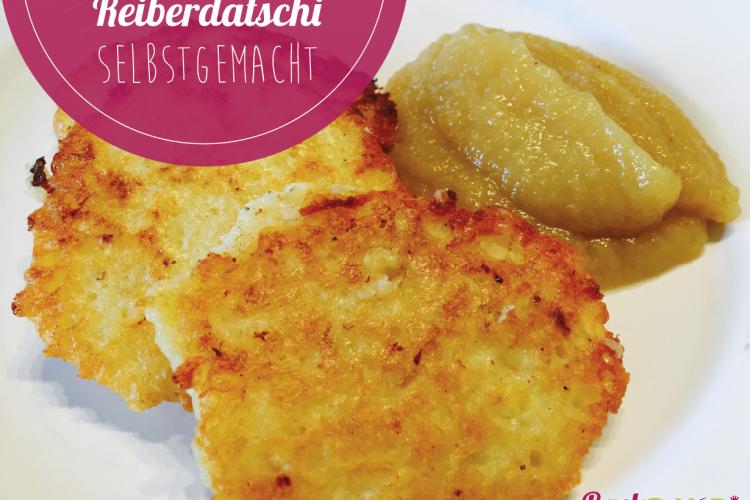 Selbstgemachte Reiberdatschi (Kartoffelpuffer)