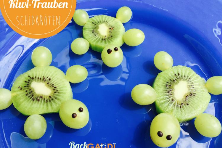 Kiwi-Trauben-Schidkröten